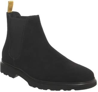 Ask the Missus Lightweight Chelsea Boots Black Suede