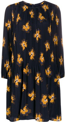 Steffen Schraut Funky Flowers Print Shift Dress