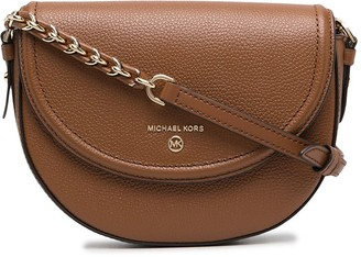 MICHAEL Michael Kors Curved Leather Crossbody Bag