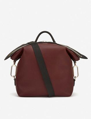 Smythson Ludlow leather rucksack