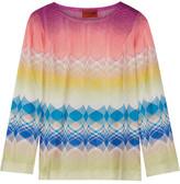 Missoni Crochet-knit Top - Pink