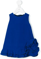 Simonetta ruffled hem dress - kids - Cotton - 12 mth