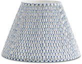 Bunny Williams Home Spring Starflower Lampshade, Blue/White