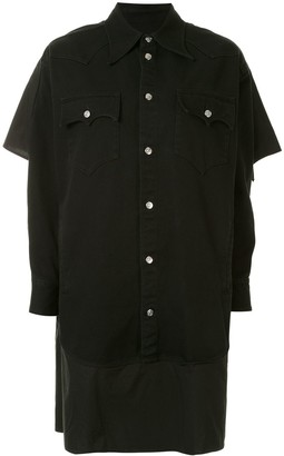 MM6 MAISON MARGIELA Double Sleeve Shirt Dress