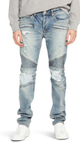 Hudson Men's The Blinder Distressed Biker Jeans