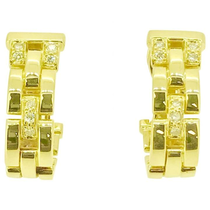 Cartier Panthère yellow gold earrings