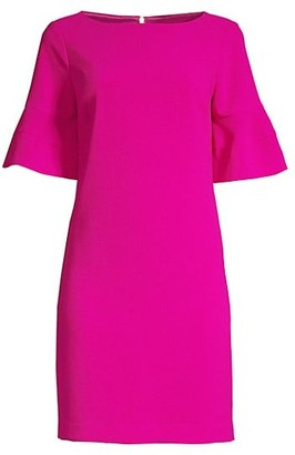 Trina Turk Sojourn Bell Cuff Shift Dress