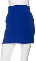 Naven Skinny Silk Mini Skirt