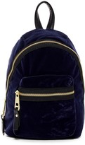 Madden-Girl Mini Velvet Backpack