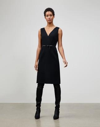 Lafayette 148 New York Nouveau Crepe Valetta Dress