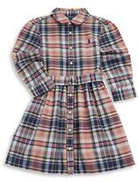Ralph Lauren Toddler's Plaid Shirtdress