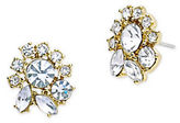 Marchesa Faceted Stone Stud Earrings