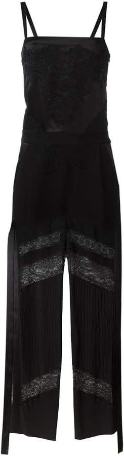 Givenchy semi-sheer jumpsuit