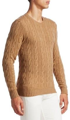Ralph Lauren Purple Label Cableknit Cashmere Sweater