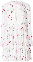 Giamba floral embroidered dress