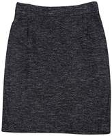 Theory Grey Wool Pencil Skirt