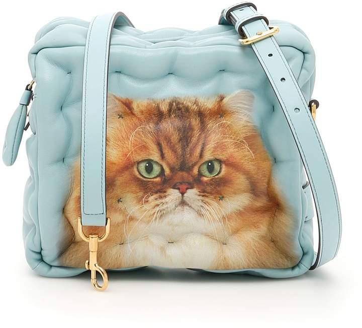 Anya Hindmarch Kitsch Cat Chubby Cube Crossbody Bag