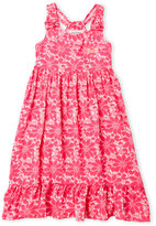 Juicy Couture Girls 4-6x) Floral Ruffle Bottom Dress