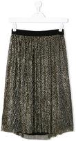 Little Marc Jacobs pleated lurex skirt