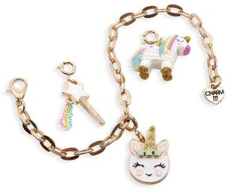 CHARM IT! Unicorn Charm Bracelet Set