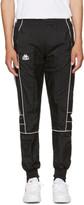 Kappa SSENSE Exclusive Black Windbreaker Track Pants