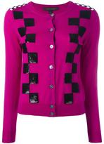 Marc Jacobs classic checkered cardigan - women - Wool - M