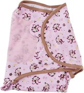 Summer Infant SwaddleMe Adjustable Infant Wrap, Jungle Honeys, Small/Medium