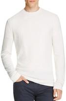 Vince Cotton Cashmere Mixed Stitch Crewneck Sweater