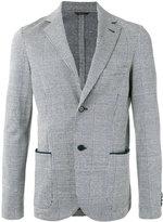 Loro Piana checked blazer - men - Cotton/Linen/Flax/Cupro - 46