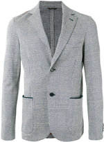 Loro Piana checked blazer - men - Cupro/Linen/Flax/Cotton - 46