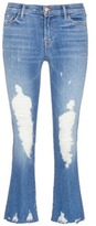 J Brand 'Selena' distressed cropped boot cut jeans