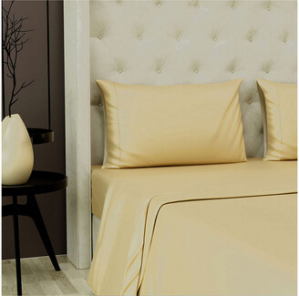 Fisher West New York 500Tc 4Pc Sateen Sheet Set