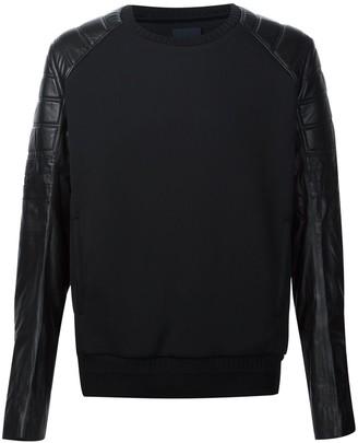 Juun.J Arms Contrast Sweatshirt