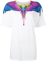 Marcelo Burlon County of Milan multicoloured wing print T-shirt - women - Cotton - XS