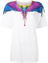 Marcelo Burlon County of Milan multicoloured wing print T-shirt - women - Cotton - XXS