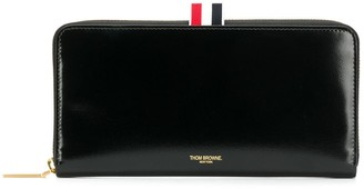 Thom Browne Long Zip-Around Wallet