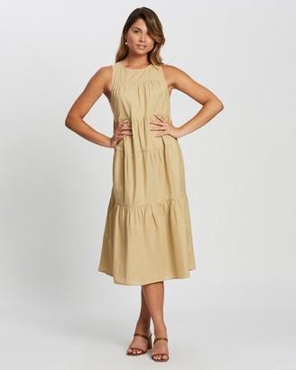 Atmos & Here Eva Midi Dress