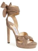 Jimmy Choo Women's 'Vixen' Wraparound Platform Sandal