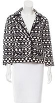 Tory Burch Polka Dotted Knit Jacket