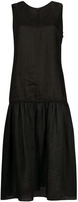 Joseph dropped-waist sleeveless midi dress