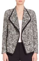 Vince Draped Boucle Jacket