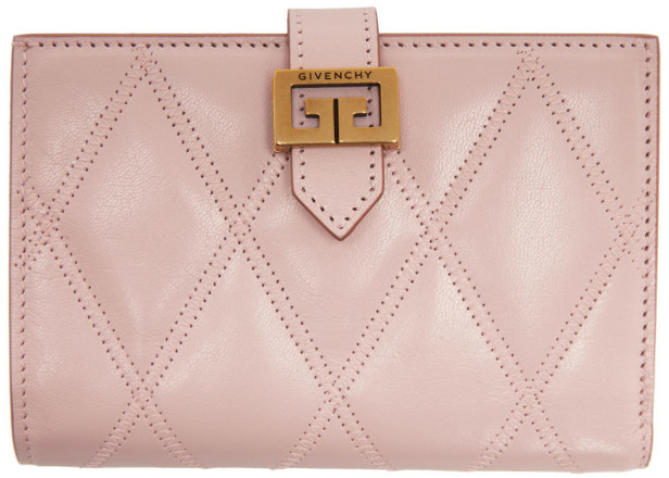 Givenchy Pink Medium GV3 Wallet