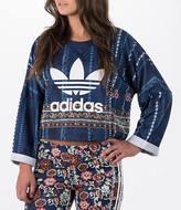 adidas Women's Originals Cirandeira Crop Sweatshirt