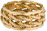 Ring 14K Wide Rope Band