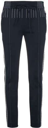 Valentino Track pants with contrasting stitch