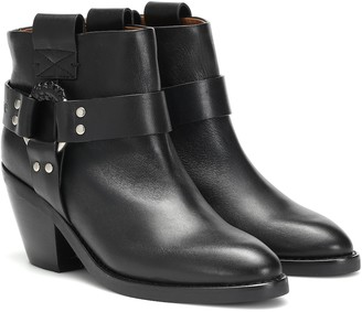 See by Chloe Eddy leather ankle boots
