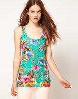 Tropical Floral Vest