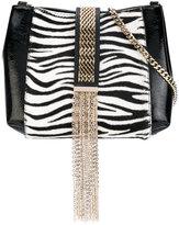 Lanvin zebra print satchel - women - Leather/Calf Hair/metal - One Size