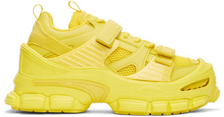 Juun.J Yellow Track Oversized Sneakers
