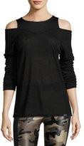 Koral Activewear Hold Long-Sleeve Performance Tee, Black